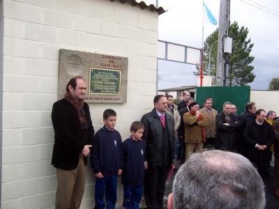 INAUGURACION DO CAMPO CAMBALLON
