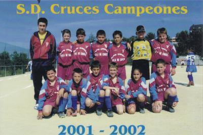 BENXAMINS 2001-2002